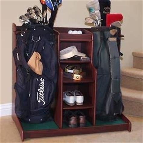 Golf Club Storage Garage by Golf Bag Storage Rack Garage Caddy Organizer Golf