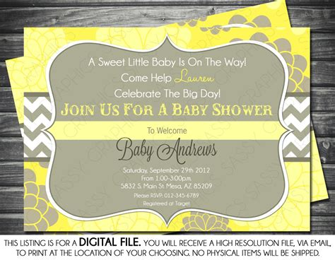 Baby Shower Gender Neutral Invitations by Baby Shower Invitations Gender Neutral Cimvitation