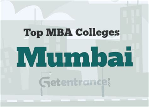 Best Institute For Mba In Mumbai by Colleges In Mumbai