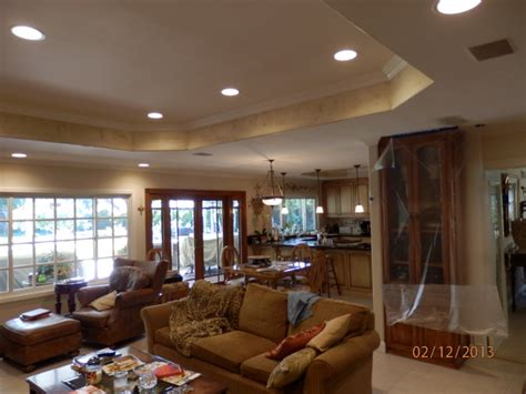 family room ceiling lights recessed ceiling and lighting mediterranean family