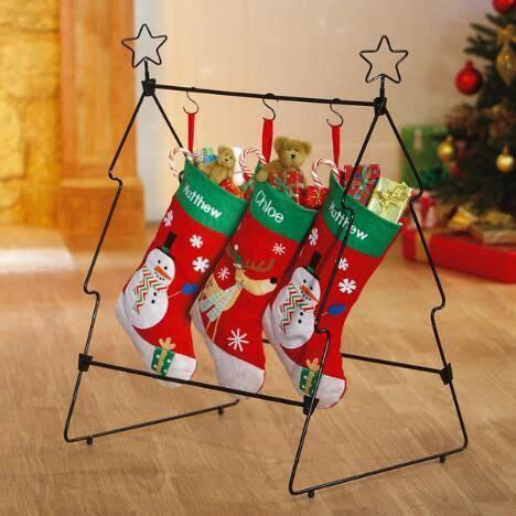 floor standing christmas stocking holders christmas