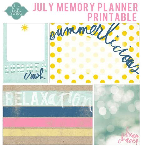 printable memory journal 108 best free printable project life and journaling cards