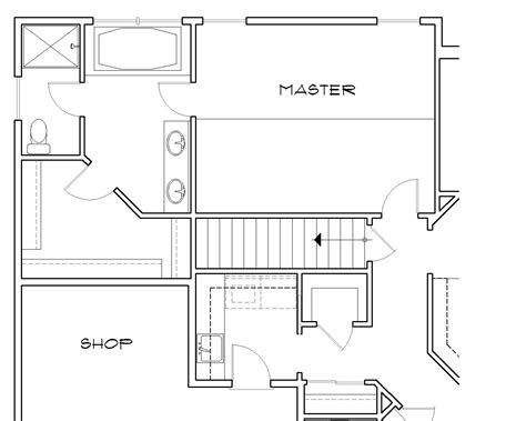stairs in floor plan harlow 4584 3 bedrooms and 2 5 baths the house designers