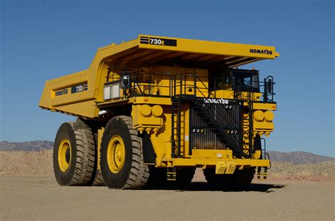 Lego Alat Berat Komatsu 730e Dump Truck Construction Mining Equipment