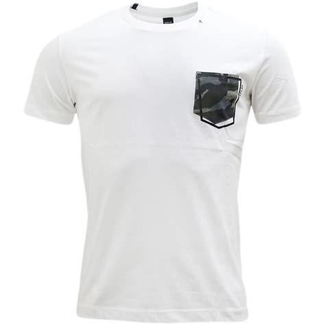 plain t shirt with pattern pocket replay plain camouflage pocket t shirt m3327 ebay