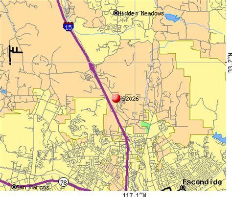 zip code map escondido ca 92026 zip code escondido california profile homes