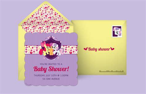 Punchbowl Baby Shower by Free My Pony Invitations My Pony