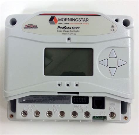 MorningStar ProStar MPPT Solar Charge Controller   e