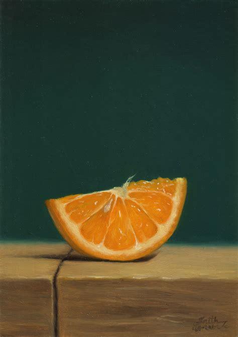 orange painting orange half wheel oil daily paintings