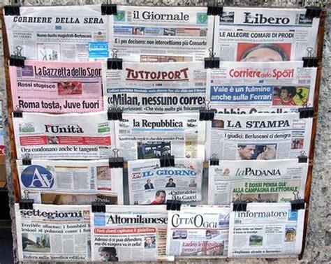 testate dei giornali giornali quotidiani su gratis