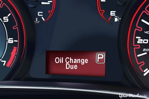 why does your car s oil light come on understanding the dodge oil change indicator and service indicator lights yourmechanic advice