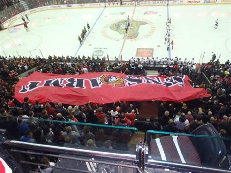 canada section 8 view from 300 section picture of canadian tire centre