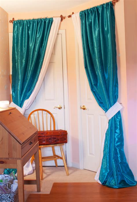 diy closet door curtains pilotproject org