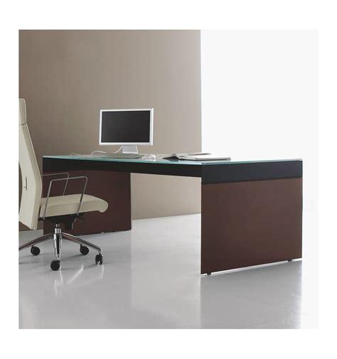 scrivania piano vetro scrivania con piano in vetro e struttura in legno offixstore