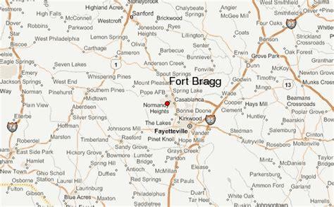 fort bragg carolina map fort bragg location guide