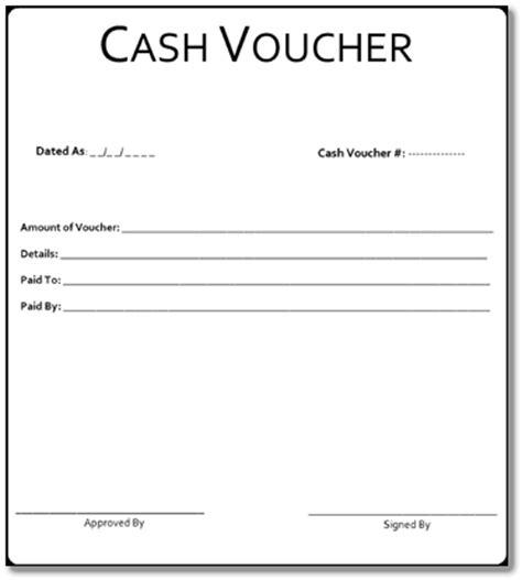 cash voucher format choice image download cv letter and