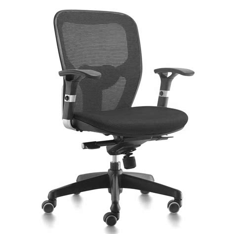 mt international fauteuil synchrone pro noir mobilier