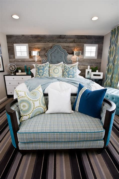 bedroom ideas on pinterest headboard ideas plank rustic plank accent wall eclectic bedroom lulu designs