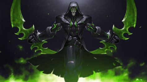 wallpaper green reaper overwatch