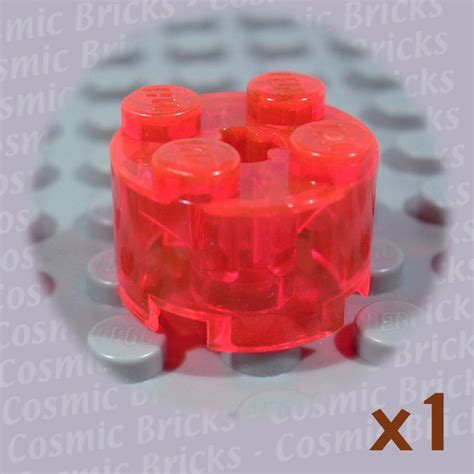Lego Part Trans Neon Orange Antenna 1 X 4 lego trans neon orange brick 2x2 611647 3941 single n