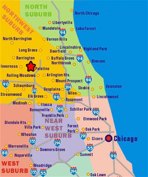 Of Chicago Search Map Of Chicago Southern Suburbs Search Engine At Search