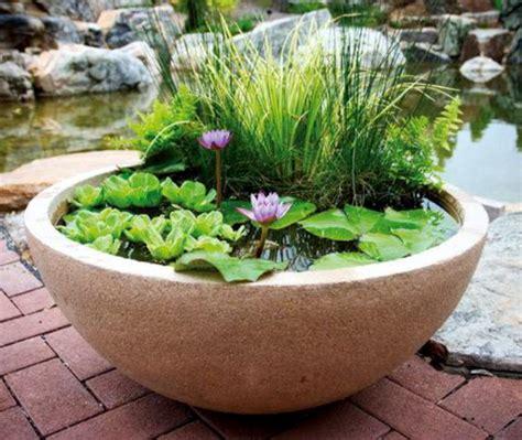 patio ponds container water gardens  aquascape