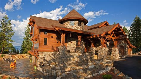 One Story Craftsman Style Homes by Mountain Architects Hendricks Architecture Idaho Idaho