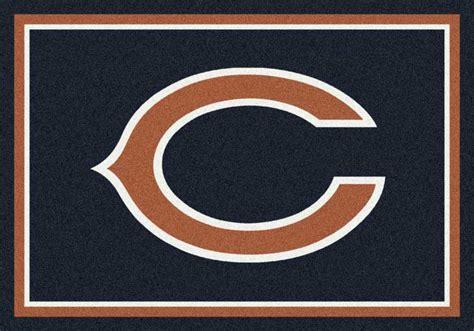 chicago bears area rug nfl logo rugs football logo mats sports rugs