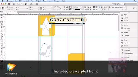 creating index indesign cs6 create a newsletter in adobe indesign cs6 youtube