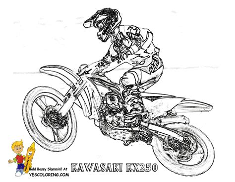 easy dirt bike coloring pages free coloring pages of pit pit bike