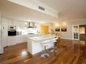 open plan kitchen designs classic open plan kitchen design using hardwood kitchen photo 346571