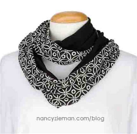 sewing with nancy infinity scarf favorite scarves to sew by nancy zieman and donna fenske