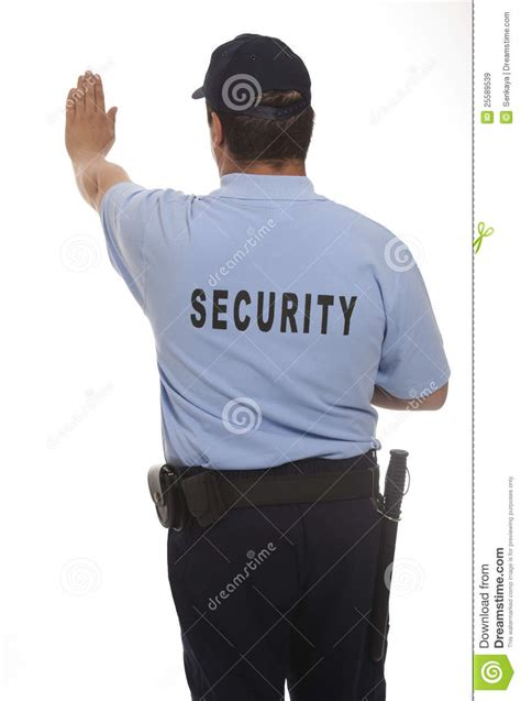 security guard royalty free stock images image 25589539