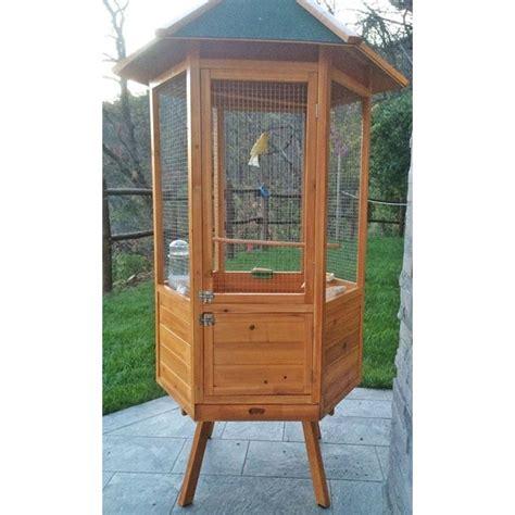 gabbie per pappagalli cenerini voliera per pappagalli in legno da giardino
