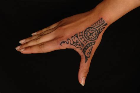 tribal hand tattoos for girls shane tattoos rotuman polynesian on