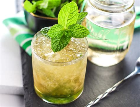 mint julep cocktail classic mint julep recipe park ranger john