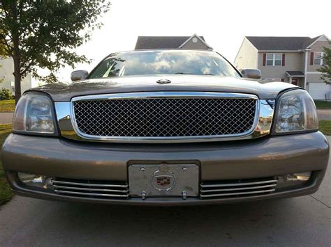 bentley grill cadillac deville chrome bentley mesh grille full