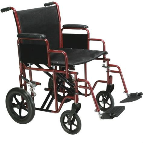 Transport Chair Reviews by Bariatric Heavy Duty Transport Wheelchair