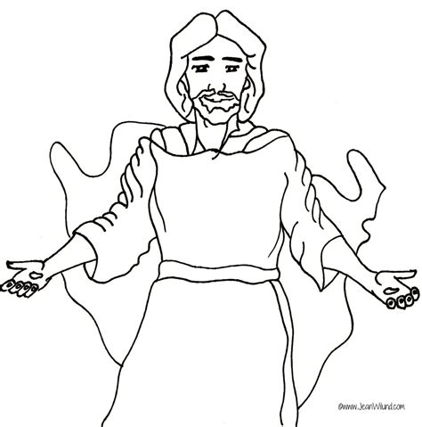 coloring pages jesus and jesus outline coloring coloring pages