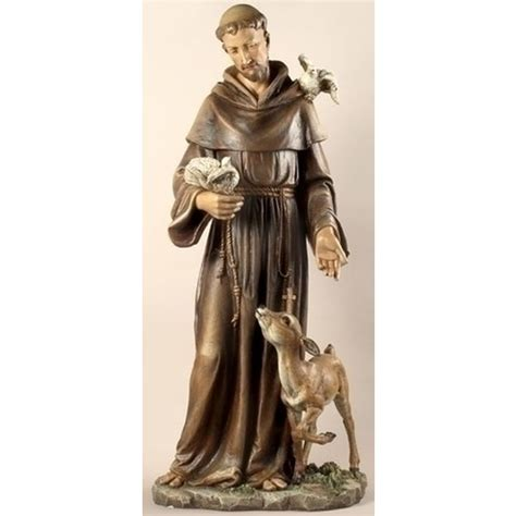 st francis statue 36 inch the catholic company