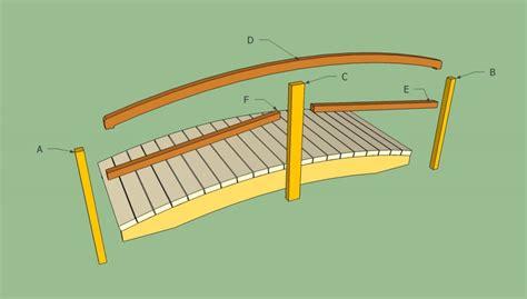 how to make a garden bridge garden bridge plans howtospecialist how to build step
