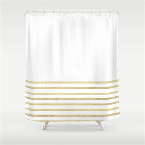 white and gold shower curtain 17 best ideas about gold shower curtain on pinterest