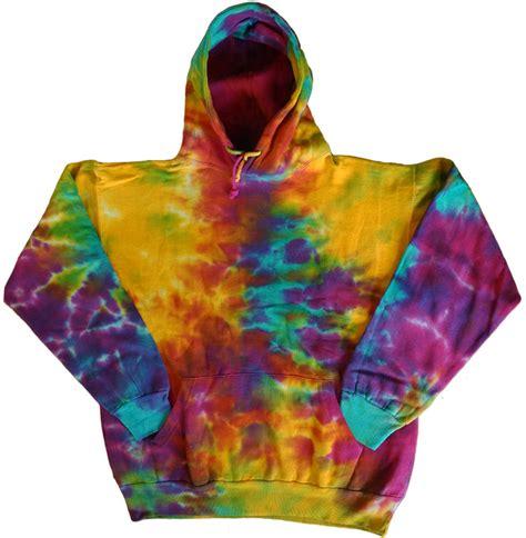 colourful pattern hoodies men s tie dye sweatshirt hoodie cool funky colorful tye