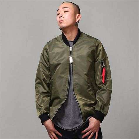 Jaket Bomber Motor Browngreen Army popular aviator flying jacket buy cheap aviator flying jacket lots from china aviator flying