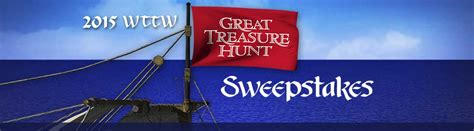 Wttw Sweepstakes - 2015 wttw great treasure hunt sweepstakes wttw chicago public media television and