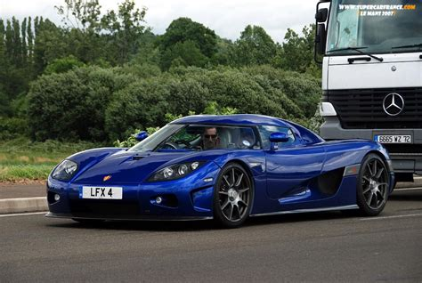 koenigsegg blue driving blue koenigsegg ccx cars