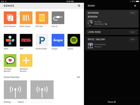 sonos controller for android sonos releases new controller app for ios android