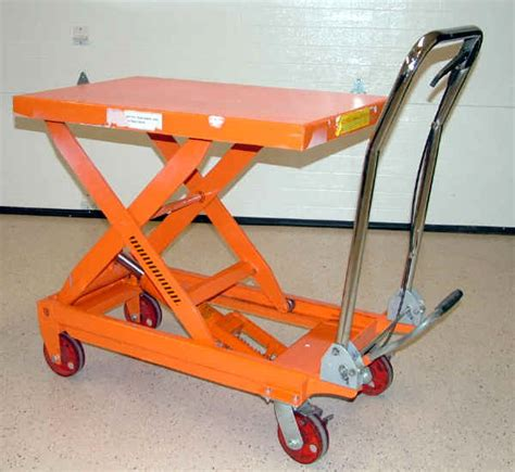 harbor freight lift table hydraulic lift cart harbor freight hydraulic