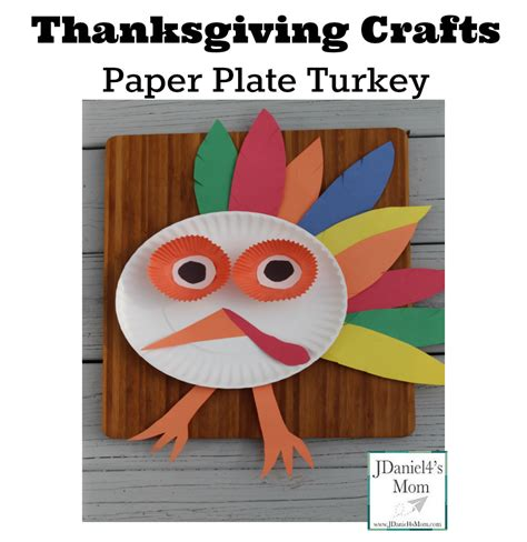 Thanksgiving Paper Plate Turkey Craft - thanksgiving crafts paper plate turkey
