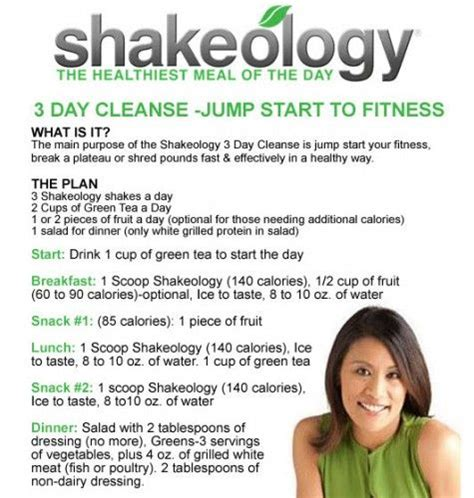 Shakeology 3 Day Detox by 17 Best Ideas About Shakeology Cleanse On
